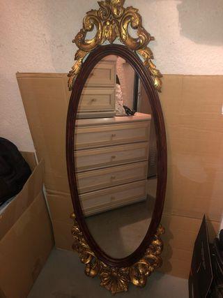 Espejo#vintage#restaurar#rococo#espejo