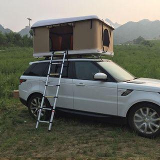 tienda acampada para coche