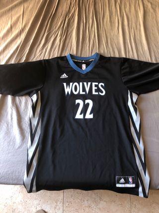 Camiseta Timberwolfs Wiggins NBA