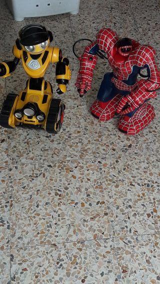 juguetes spiederman wowee