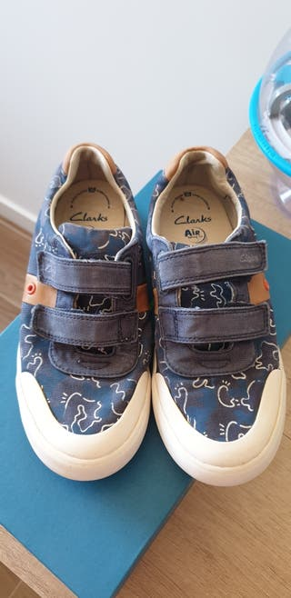 Zapatillas niño Clarks