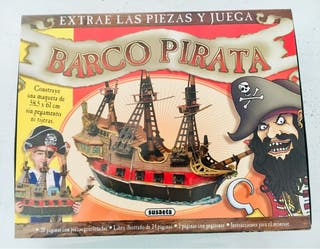Barco pirata (maqueta gigante)