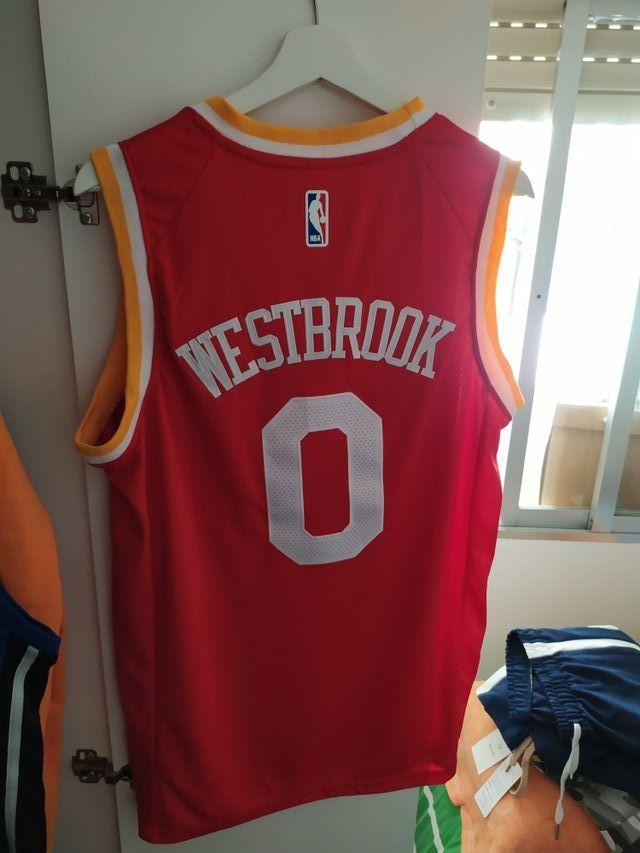 Westbrook camiseta nba rockets talla m nueva