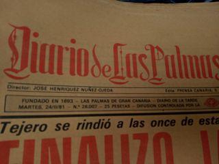 periódicos y revistas antiguas desde 1976