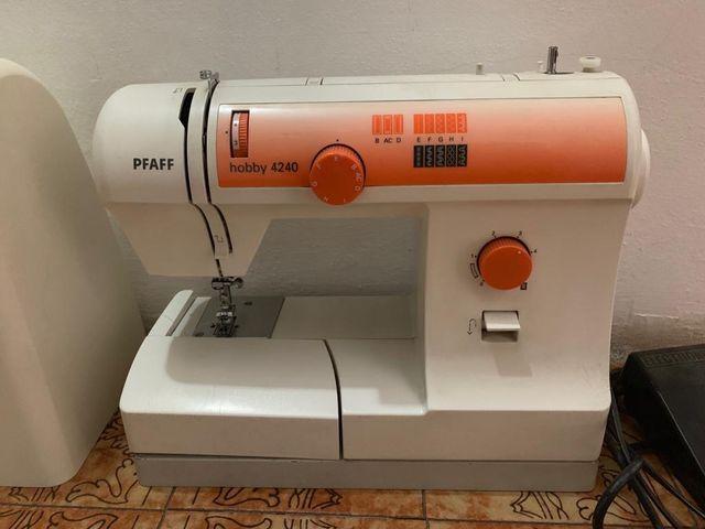 Maquina coser Pfaff hobby 4240