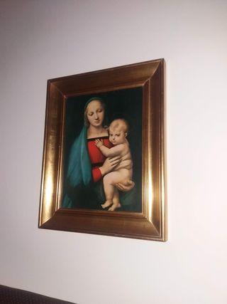cuadro pintura religiosa