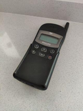 Teléfono móvil antiguo PHILIPS tcd308/TP