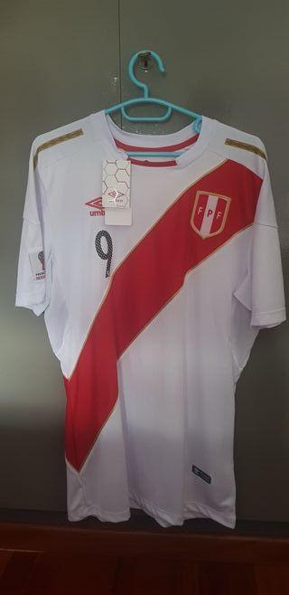 camiseta de fútbol de Perú