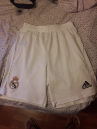 Pantalones cortos real madrid futbol