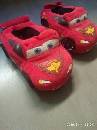zapatillas rayo Mcqueen, cars