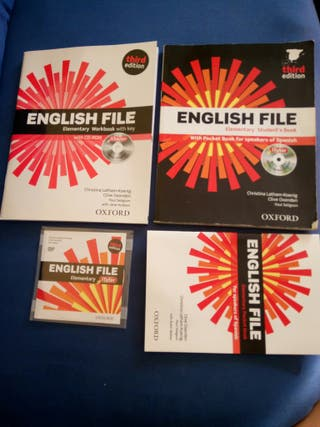 Libro de Inglés English File Oxford