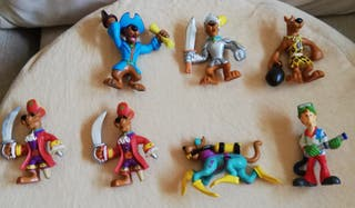 Lote de 7 figuras PVC Scooby Doo.