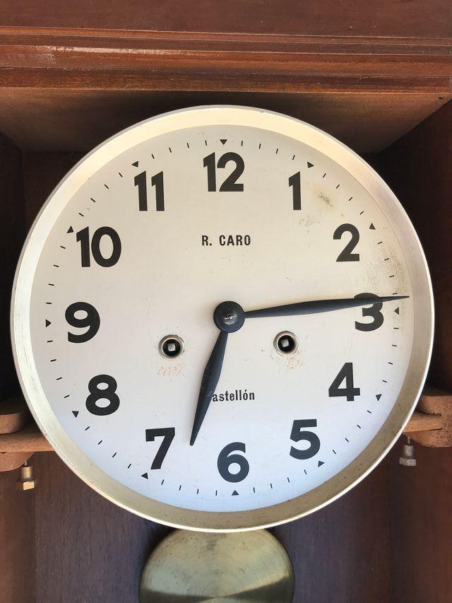 Reloj pared péndulo a cuerda