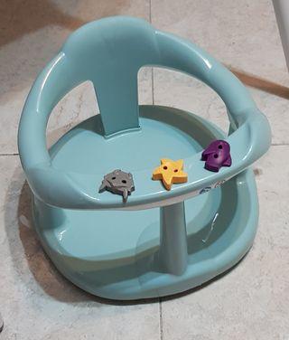Asiento bañera bebé