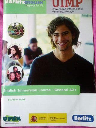 Libro de inglés para nivel A2+