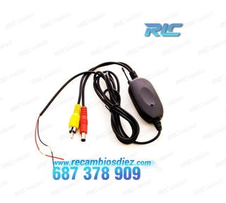 Emisor + receptor wireless para Cámara trasera por