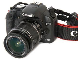 Cámara Réflex Canon EOS 500D