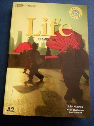 Libro de Inglés Life Elementary A2 split Edition B