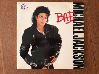 """Disco de vinilo de Michael Jackson """"Bad"""""""