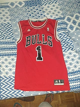 camiseta nba derrick rose chicago bulls