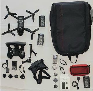 DRONE BEBOP 2 POWER+Mochila+batería extra+cargador