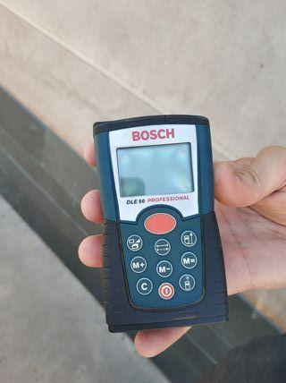 Medidor laser de distancias Bosch DLE 50