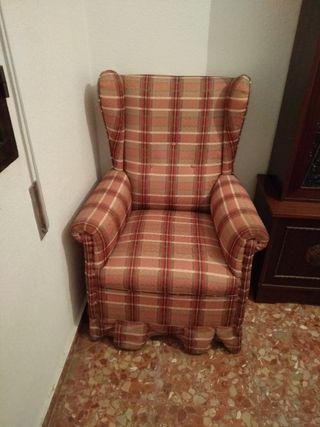sillones orejeros y sillas