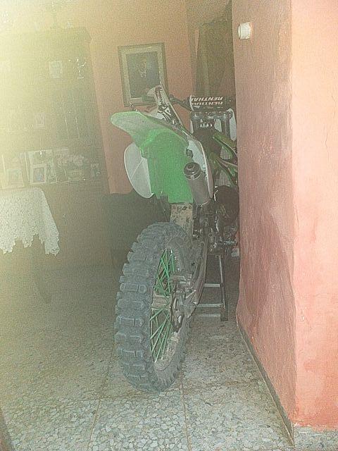 Kawasaki kx 125cc 2T