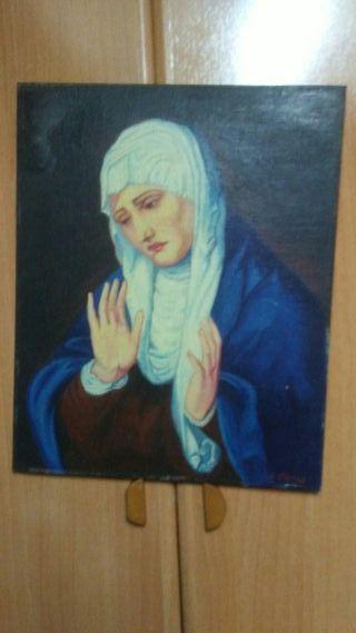 cuadro religioso de la Virgen