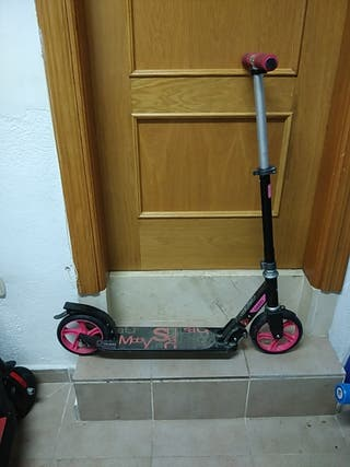 Patinete scooter oxelo rosa