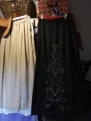 Faldas largas estilosas.