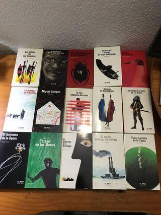 Colección novelas de aventuras