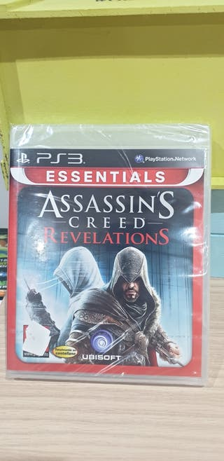 nuevo precintado videojuego ps3 assassin's Creed
