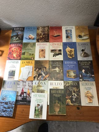 Colección novelas y ensayos formato micro