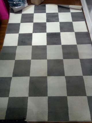Alfombra, impecable, limpia