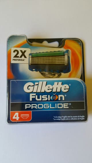 Cuchillas Gillette.