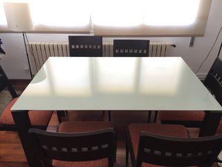 Mesa comedor diseño y 8 sillas