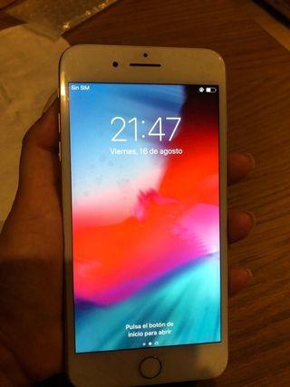 iPhone 7 plus color plata