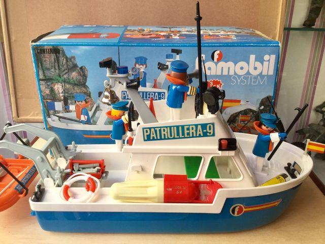 Patrullera de Famobil. ORIGINAL Año: 1979