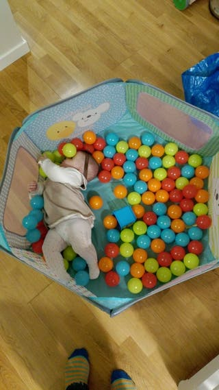 Piscina de bolas Imaginarium perfecto estado