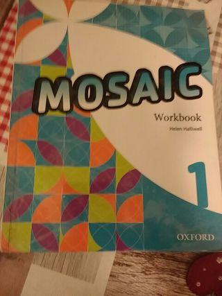 Libro de inglés 1 ESO Workbook MOSAIC OXFORD