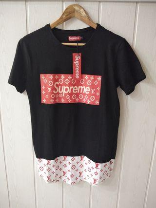 camiseta supreme Luis vuiton