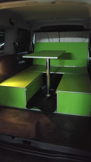 Mueble mini camper para furgo o furgoneta