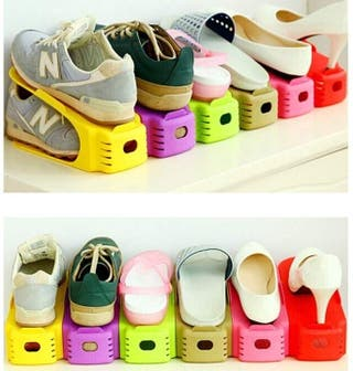 zapatero organizador de zapatos ahorra espacio