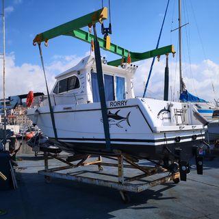Barco Gallart 8 en Port Masnou