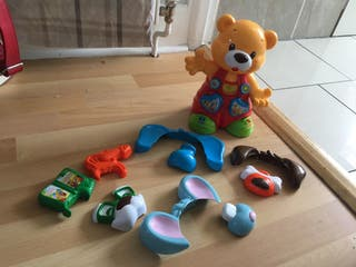 Puzzle interactive bear