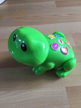 Interactive frog