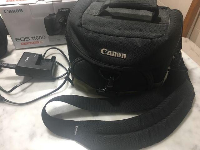 Canon 1100D más accesorios