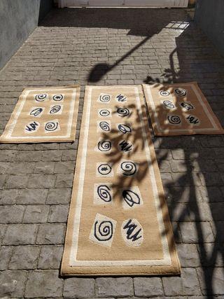 Juego de alfombras