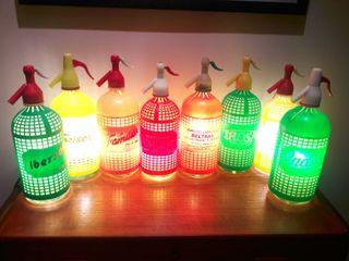 lámparas sifon vintage luz ambiente calida